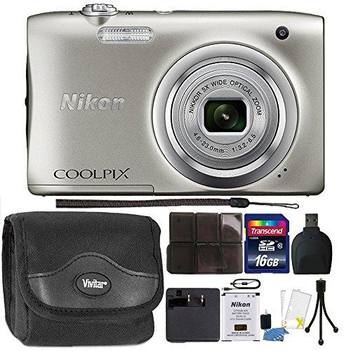 Nikon COOLPIX A100 20.1MP f/3.7-6.4 Max Aperture Compact Dig