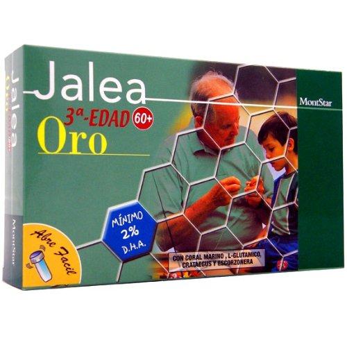 JALEA REAL TERCERA EDAD ORO 20 AMPOLLAS: Amazon.es: Salud y cuidado personal