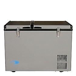 Whynter Fm-62dz Dual Zone Portable Refrigeratorfreezer, 62-quart