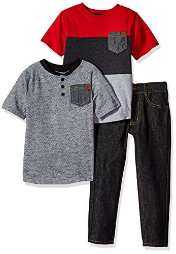 American Hawk Boys T-Shirt and Pant 3 Piece Set (More Styles Available)