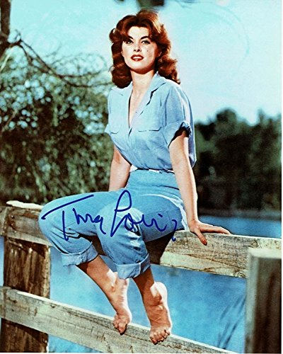 TINA LOUISE - Gilligan's Island AUTOGRAPH Signed 8x10 Photo - Island Signed