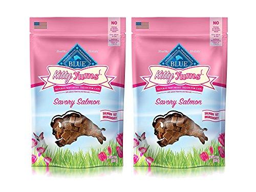 - Animal Supply Co. Set of 2 Blue Kitty Yums Savory Salmon Recipe bundled by Maven Gifts