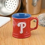 Philadelphia Phillies Red 2oz. Ceramic Sculpted Mug Shot Glass