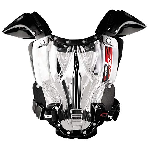 EVS Vex Youth Clear/Black Chest Protector - Small