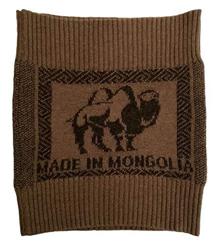 (Men Women Belt Knitted Warm Soft 100% Camel Wool Brown Arthritis Neuralgia Rheumatism, 1 Piece, Size 46-48(M-L). Made in Mongolia.)