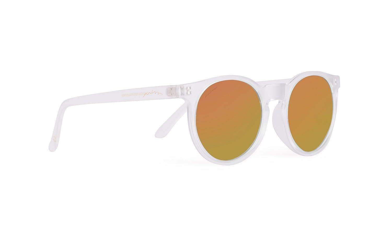 Miss Hamptons Gafas Matt White & Orange