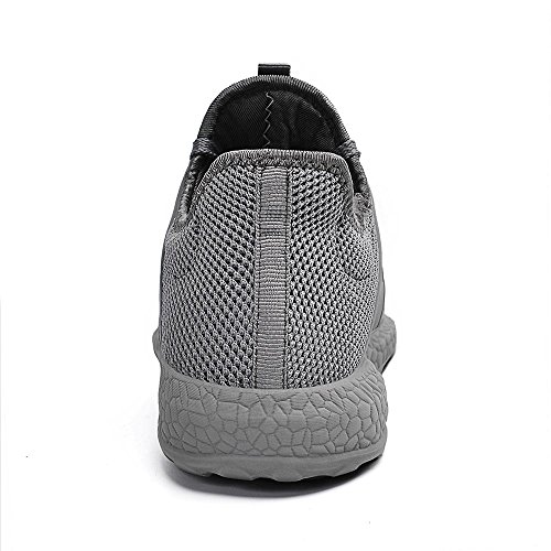 Course Respirant ZOCAVIA Chaussures Basket Gris Running Femme Homme Fitness de Sport ra8BWHr