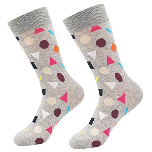 KoolHour Men's Funny Crazy Cool Graphic Colorful Patterned