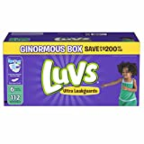 Health & Personal Care : Branded Luvs Ultra Leakguards Size 6 Diapers, 112 ct. (diapers - Wholesale Price (Bulk Qty at Whoesale Price, Genuine & Soft Baby diaper)
