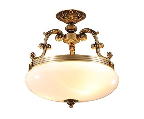 Plafoniere Rotonde Da Soffitto : Home mall lampada da soffitto in stile europeo plafoniere