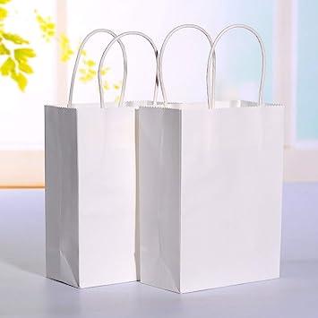 Amazon.com: Bolsas de papel kraft: 20 unidades por lote de ...