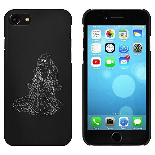 Schwarz 'Dame im Kleid' Hülle für iPhone 7 (MC00061181)