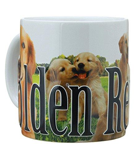 Americaware PMGLD01 Golden Retriever Mug ()