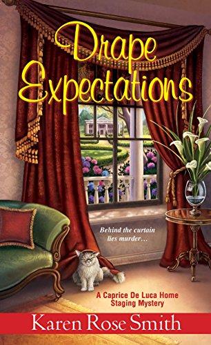 Drape Expectations (A Caprice De Luca Mystery Book -