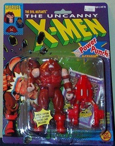 Toy Biz Marvel The Uncanny X-Men Juggernaut (Power Punch) Action Figure 4.75 Inches
