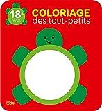 Coloriage des tout-petits: La tortue - 18 mois