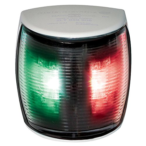 Hella NaviLED 2nm BSH Bi-Color Pro LED Navigation Lamp, White/Red/Green ()