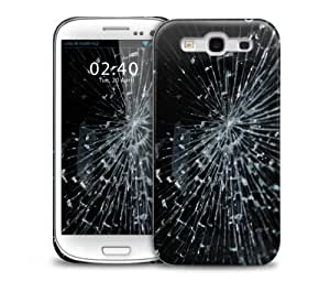Cracked Samsung Galaxy S3 GS3 protective phone case
