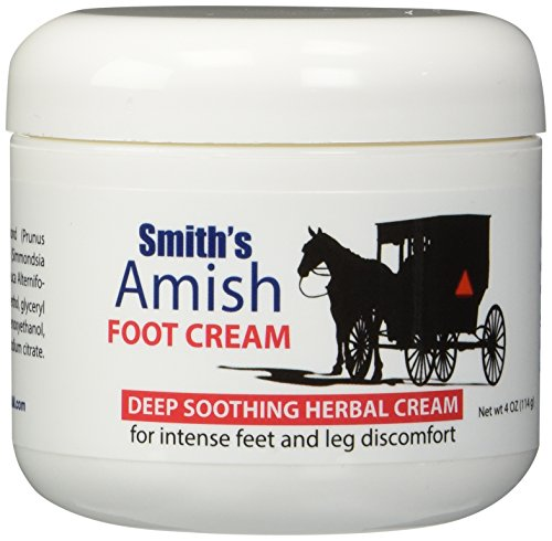 Herbal Foot Cream - Smith's Amish Foot Cream Deep soothing herbal cream for intense foot and leg discomfort including burning, cramping & restlessness sensations