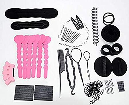 28 Bobby piedini /& Tessuto Capelli Legami Pretty strumenti utili accessori per capelli Set 3 Clip