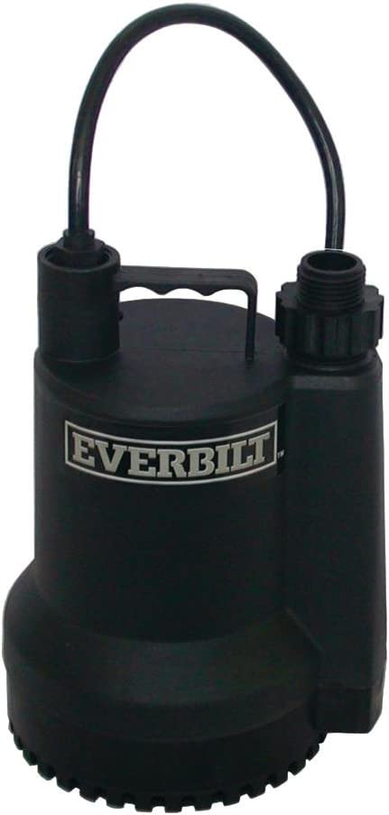 1001092915 Everbilt SUP54-HD 1//6 HP Submersible Utility Pump Tested