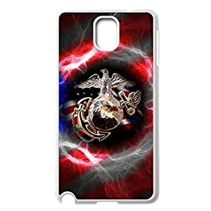 Innovation Design USMC Marine Corps Hard Shell Phone Case Lightweight Printed Case Cover for Samsung Galaxy Note 3 N9000 White 021401