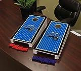 Victory Tailgate Orlando Magic NBA Basketball Desktop Cornhole Game Set Border Version