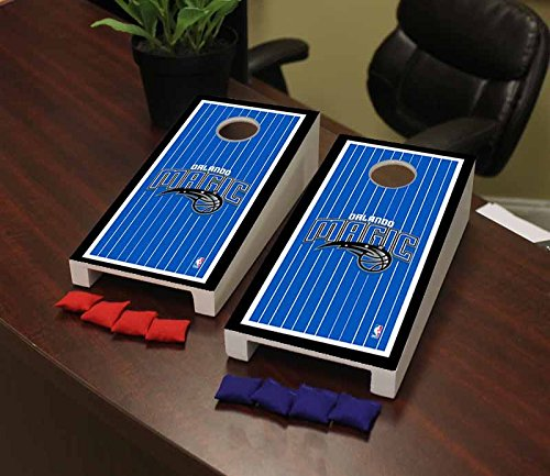Victory Tailgate Orlando Magic NBA Basketball Desktop Cornhole Game Set Border Version by Victory Tailgate