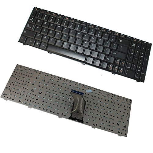 New Laptop Keyboard Compatible IBM Lenovo IdeaPad G560 G565 P/N: 25-009754 25009755 V-109820BS1-US G560-US US Layout Black Color
