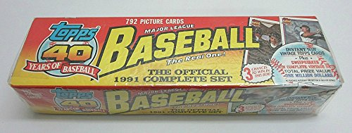 1991 Topps Baseball Factory Set -