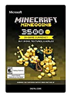 Minecraft: Minecoins Pack: 3500 Coins - Xbox One [Digital Code]