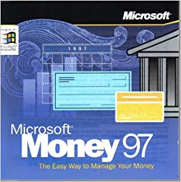 microsoft money 97 cd rom windows 95 or nt microsoft