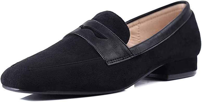 Amazon.com   sorliva Suede Loafers for
