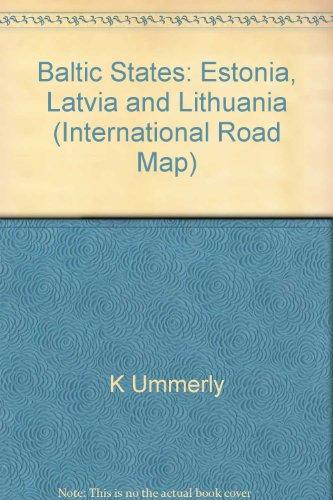 Baltic States: Estonia, Latvia and Lithuania (International Road Map) (German Edition)