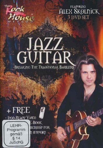 (Alex Skolnick of Testament, Jazz Guitar Breaking the Traditional Barriers by Rock House Method )