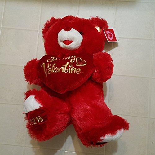 Valentines Day Gift Plush Teddy Bear 2018 (Red Valentine)
