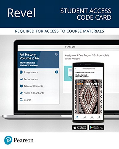 Revel for Art History, Volume 2 -- Access Card (6th Edition)