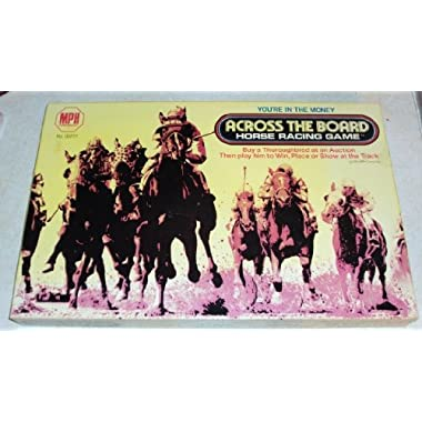 Across the Board Horse Racing Game (1975)