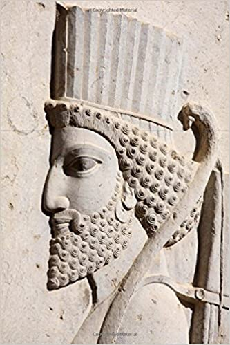 Bas Relief Of Persian Soldier From Persepolis Iran Journal 150 Page Lined Notebook Diary Image Cool 9781539357179 Amazon Com Books