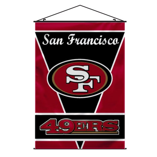 NFL San Francisco 49ers Wall Banner San Francisco 49ers Wall