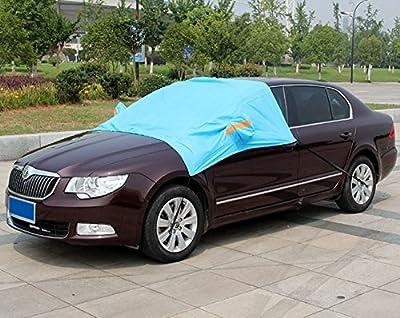 Mavota Car Windshield Snow Cover Sun Shade Protector-Winter Snow,Ice,Rain,Dust Frost Guard and Windproof