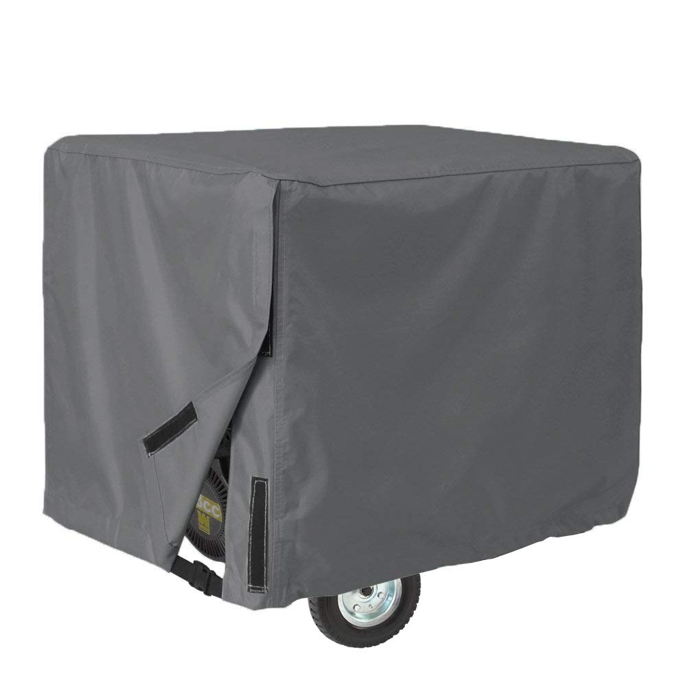 AKEfit Generator Cover-100% Waterproof Durable Universal-Heavy Duty Resistant Storage Cover,Fits Generators up to 28x38x30 inch,Gray 3 Years Warranty by AKEfit