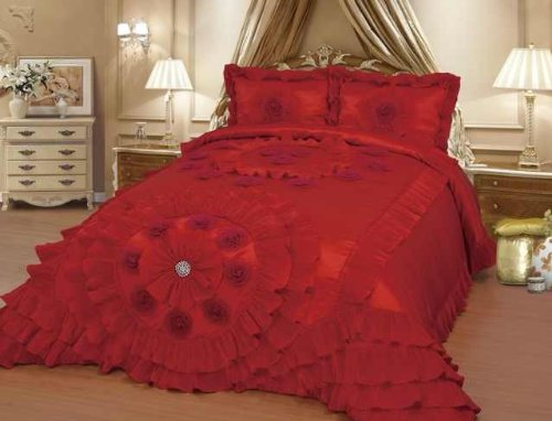 Octorose ® Royalty Oversize Wedding Bedding Bedspread Quilts