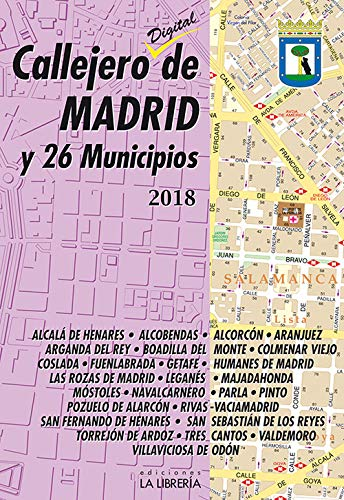 Callejero de Madrid y 26 municipios 2018: Amazon.es ...