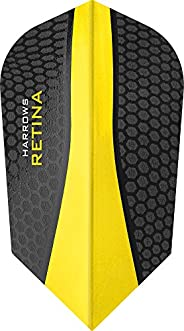 10 x Sets Harrows Retina Yellow Dart Flights Slim