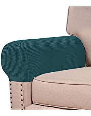 Turquoize Armrest Covers Armchair Slipcover Anti-Slip Furniture Protector for Sofa Chair Recliner Couch Loveseat