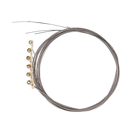 Muslady Alice AE530-SL Cuerdas para Guitarra Eléctrica Superligera Cuerdas de Acero de Alto Grado
