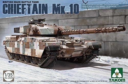 Main Battle Tank British (Takom 1/35 British Main Battle Tank Chieftain Mk.10 No. 2028 by Takom)