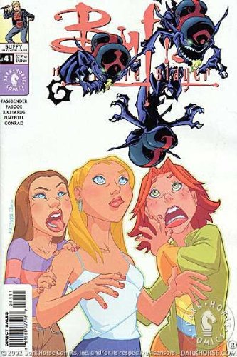 Buffy the Vampire Slayer #41 (Ugly Little Monsters Part Ii) Art Cover Comic Book pdf