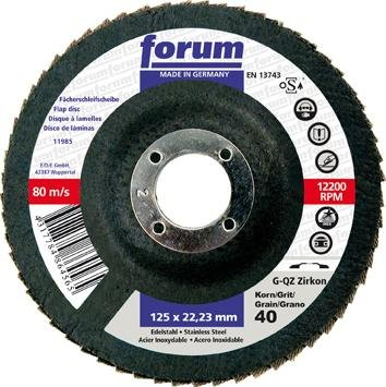 Forum Abrasive Mop Disc Glasgew GER K 60 115 MM Amazoncouk DIY Tools